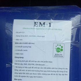 EM1 men vi sinh gốc nguyên liệu Việt Nhật giá sỉ