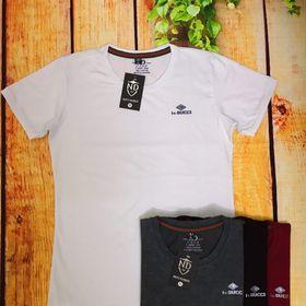 Áo thun cổ tròn cotton 4 chiều giá sỉ