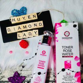 Nước Tẩy Trang Hoa Hồng Diamond Lady giá sỉ