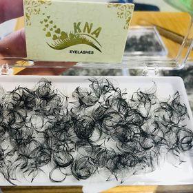 Lông Mi Fan 7D 1000Fan Chân Keo Nhỏ Đủ Độ Cong - Eyelashes-vn giá sỉ