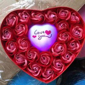 Hộp hoa hồng phát sáng giá sỉ