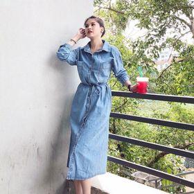 Đầm Somi jean giá sỉ