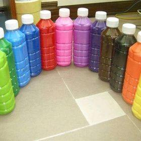 Màu nước chai khoảng nửa lít có 12 màu giá sỉ