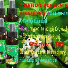 Tinh dầu bưởi trị rụng tóc giá sỉ