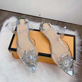 Giày sandal hoa tuyết giá sỉ