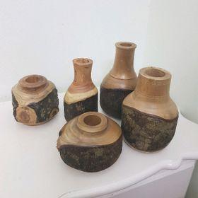 Bình hoa gỗ giá sỉ