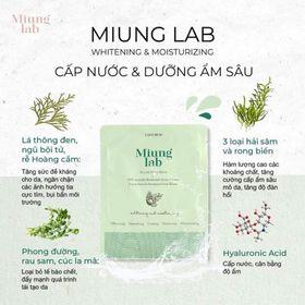 Mặt nạ Miung Lab siêu cấp ẩm căng bóng da giá sỉ