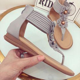 Giày sandal hoa cao cấp giá sỉ