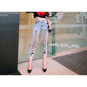 Quần Jeans Nữ Đan dây sêcxy giá sỉ