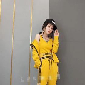 Sét bộ thể thao 3 chị tiết hàng Quảng Châu giá sỉ