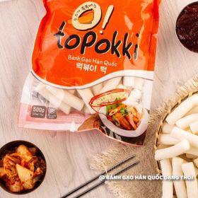 Bánh gạo Hàn Quốc dạng thỏi 500gr giá sỉ