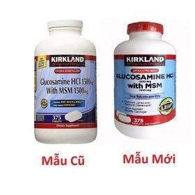 Viên uống xương khớp Kirkland Glucosamine HCL with MSM giá sỉ