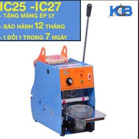 Máy ép miệng ly IC25 giá sỉ
