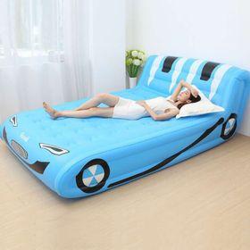 Giường hơi màu xanh giá sỉ