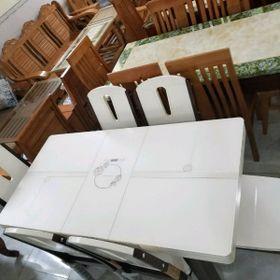 bàn ăn xếp kèm bếp điện từ giá sỉ
