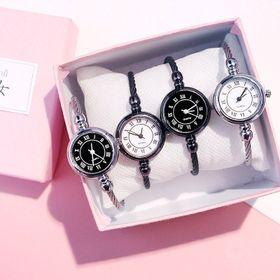 đồng hồ nữ mặt tròn SG76 giá sỉ