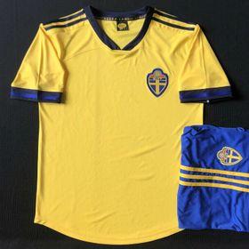 áo đấu đội tuyển Thụy Điển 2020 - vàng giá sỉ