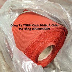 Vải thuỷ tinh phủ silicone chống cháy chống tia lửa hàn cách nhiệt giá sỉ