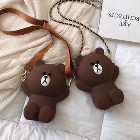 Túi gấu đeo chéo đựng đt giá sỉ