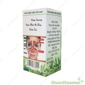 Thảo mộc Đặc trị Viêm xoang Viêm mũi dị ứng Trần Kim Huyền giá sỉ