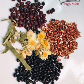 Trà gạo lứtđậu đen xanh lòng mix thảo mộc giá sỉ