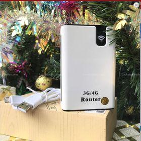 Phát wifi 3G 4G kiêm sạc dự phòng 7800mah hộp carton Mã 6572 giá sỉ