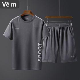 Bô nam quân short áo thun the thao Cao Câp giá sỉ