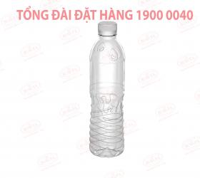 Chai nhựa nước suối PET MS222 500ml giá sỉ