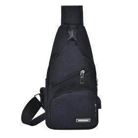 Túi Đeo Chéo Vải Giá rẻ màu đen giá sỉ