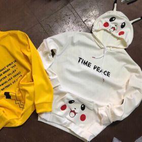 Áo hoodie pikachu Hotrend 4x giá sỉ