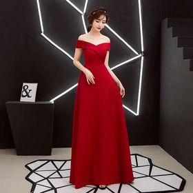 Đầm dạ hội hở vai giá sỉ