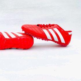 giầy đá bóng 3 sọc đỏ giá sỉ