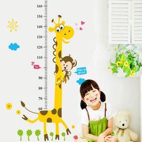 Decal dán tường thước đo chiều cao cho bé giá sỉ