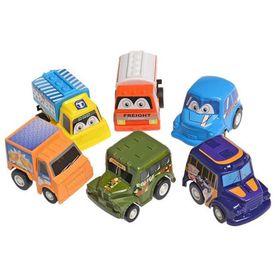 Túi 6 ô tô đồ chơi mini cho bé giá sỉ