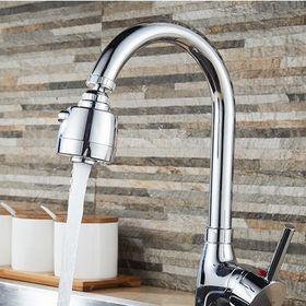 Đầu nối vòi nước chậu rửa Bát xoay 360 độ chất liệu inox giá sỉ