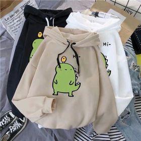 Áo hoodie khủng long Hi in giá sỉ