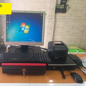 Combo máy tính tiền cảm ứng dành cho siêu thị ở Cà Mau giá sỉ