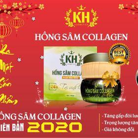 Hồng Sâm collagen Kim Hoang giá sỉ