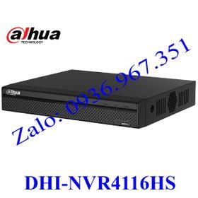 Đầu ghi hình Dahua DHI-NVR4116HS giá sỉ