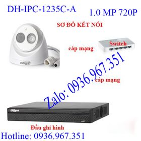 Camera IP Dahua DH-IPC-1235C-A giá sỉ giá bán buôn giá sỉ