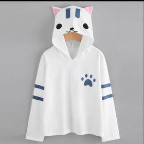 Áo hoodie nữ hình mèo dễ thương giá sỉ