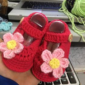 Giày len Handmade giá sỉ