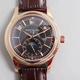 Đồng hồ cơ Patek siêu cấp thụy sĩ 0206 mặt đen giá sỉ