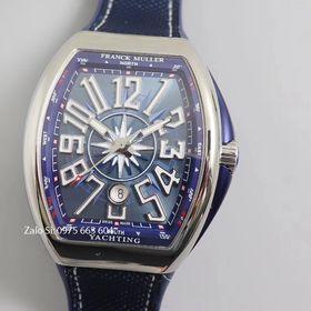 Đồng hồ cơ siêu cấp Franck Muller xanh giá sỉ