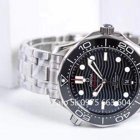 Đồng hồ cơ Omega Seamaster siêu cấp đen giá sỉ