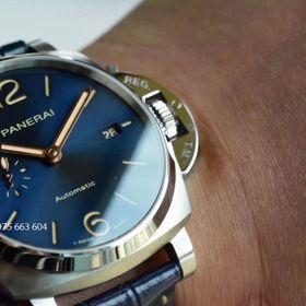 Đồng hồ cơ Panerai siêu cấp mặt xanh dạ quang giá sỉ
