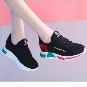 Giày Sneaker nữ hoa hồng giá sỉ