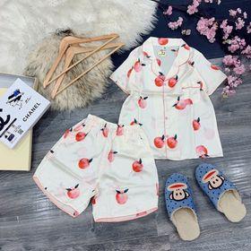 Set bộ pijama short ngủ giá sỉ