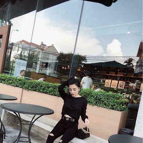Quần jean nữ màu đen kiểu rách gối thời trang giá sỉ