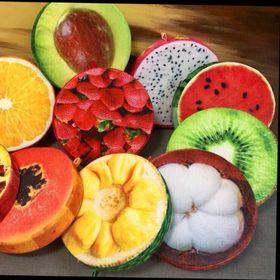 Nệm 3d trái cây và hình thú giá sỉ